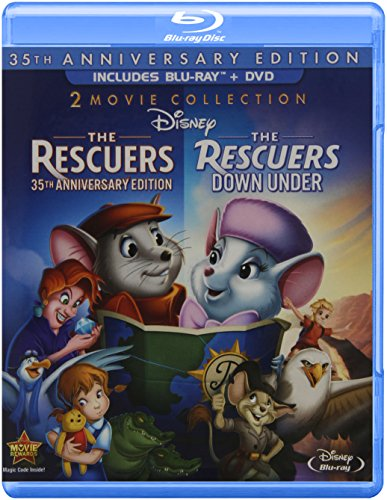 The Rescuers: The Rescuers / The Rescuers Down Under, 35th Anniversary Edition [Blu-ray]