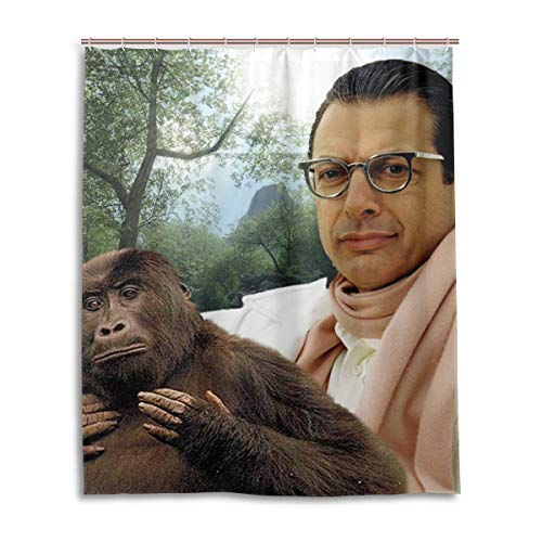 TalentHover Jeff Goldblum Bath Shower Curtain Waterproof Fabric Shower Curtains 60 x 72 Inch