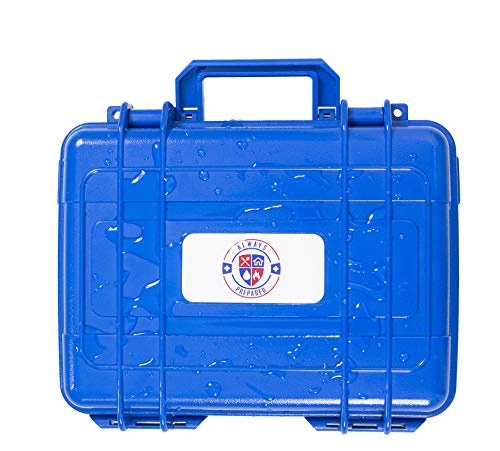 Always Prepared   Marine Kits - Waterproof Storage Case with First Aid & Emergency Survival Supplies - Ideal for Boats, Sailing and Coastal Guards