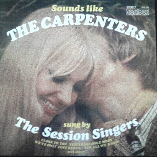 The Session Singers - Sounds Like The Carpenters - 12' LP 1973 - Contour 2870-362 - UK Press