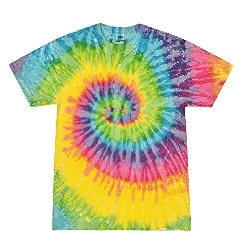 Colortone Tie Dye T-Shirt LG Saturn