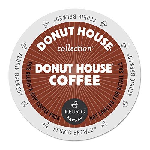 Donut House 6534 Donut House Coffee K-Cups, 24/box