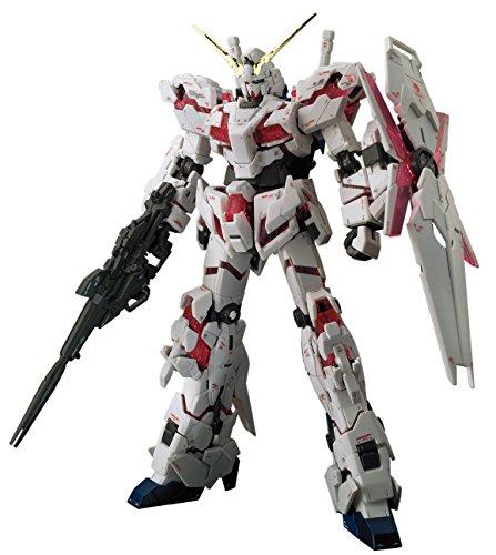 Bandai Hobby RG 1/144 Unicorn Gundam UC Model Kit Figure, Multi-Colored, 8' (BAN216741)