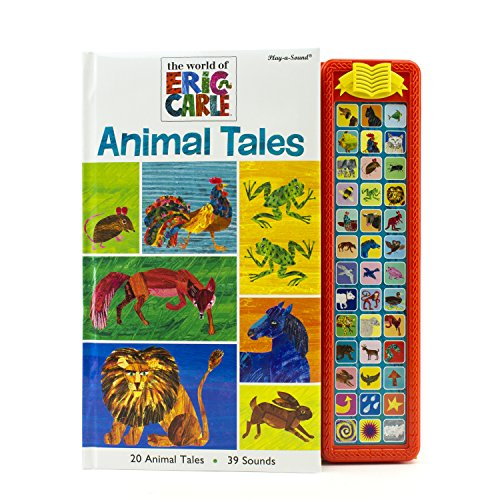 World of Eric Carle, Animal Tales Sound Storybook Treasury - Play-a-Sound - PI Kids