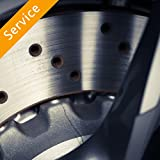 Brake Shoe Replacement - Shoes Included (Euro) - In Store