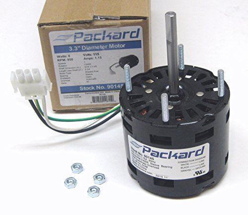 Packard 90145 Motor for Greenheck 310145, 8 Watt, 115/60 Volts, 950 RPM, CWSE