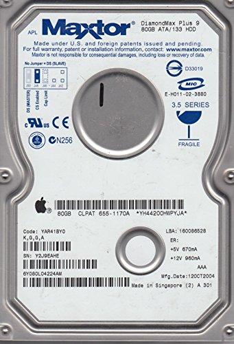 Maxtor DiamondMax Plus 9 80GB UDMA/133 7200RPM 2MB IDE Hard Drive