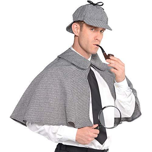 amscan Sherlock Holmes Costume | Standard Adult Size