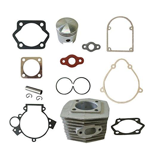 Sthus Cylinder&Piston&Pin Clips Wrist&Gasket Set Fit 80cc Motorized Bicycle Bike Motor