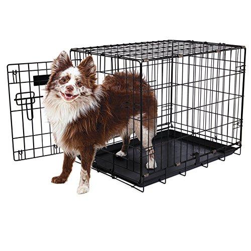 Aspen Pet Single-Door Home Training Crate, 24'W x 17'D x 20'