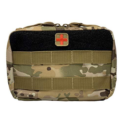 HSD First Aid Kit Pouch - Admin EMT Medical IFAK Utility MOLLE PALS (Multicam)