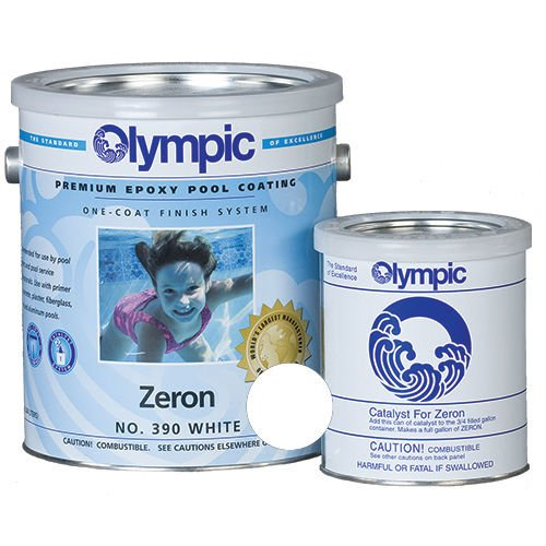 Kelley Technical 390GL Olympic Zeron Epoxy Pool Coating - White