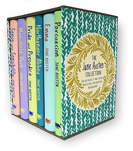 The Jane Austen Collection: Deluxe 6-Volume Slipcase Edition (Arcturus Collector's Classics)