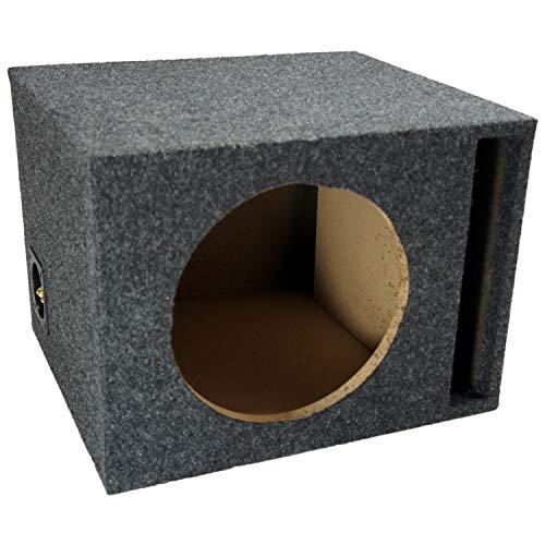 Car Audio Single 10' Vented Subwoofer Stereo Sub Box Ported Enclosure 5/8' MDF