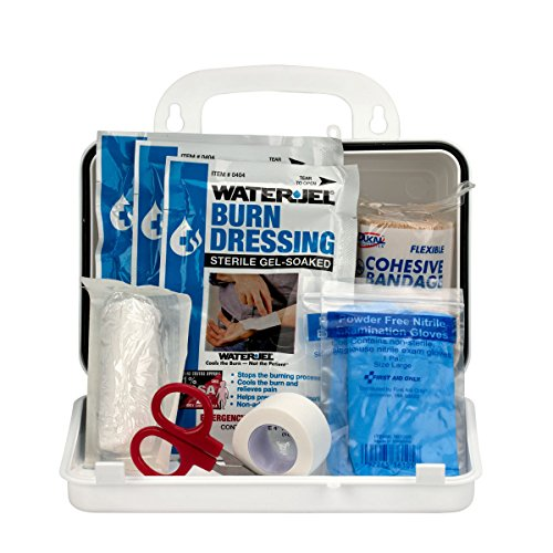 First Aid Only 440-O/FAO Burn Kit, 10 Unit Plastic Case