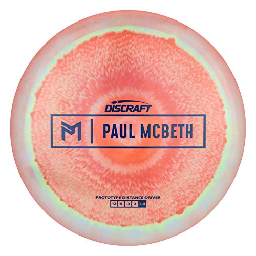 Discraft Limited Edition Paul McBeth Signature Prototype ESP Hades Distance Driver Golf Disc [Colors May Vary] - 170-172g