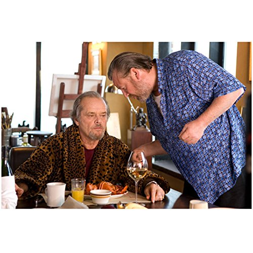 The Departed (2006) 8 inch by 10 inch PHOTOGRAPH Ray Winstone from Thighs Up Whispering to Jack Nicholson kn