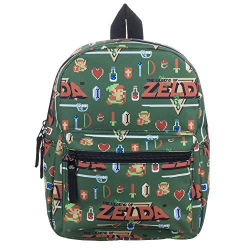 Zelda Video Game Sublimated Print Mini Backpack
