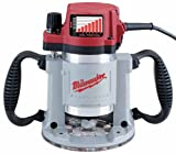 Milwaukee 5625-20 15 Amp 3-1/2-Horsepower Fixed Base Variable Speed Router with T-Handle Height Adjustment Wrench and 1/2-Inch Collet