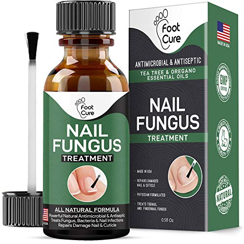 Extra Strong Nail Fungus Treatment -Made in USA, Best Nail Repair Set, Stop Fungal Growth, Effective Fingernail & Toenail Health Care Solution, Fix & Renew Damaged, Broken, Cracked & Discolored Nails