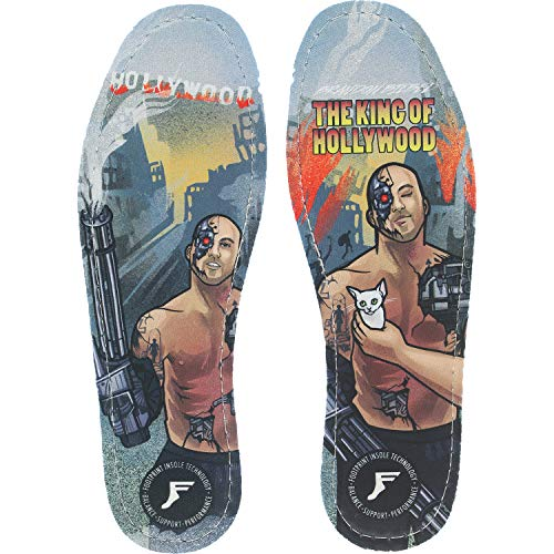 Footprint Insoles Brandon Biebel Flat 7mm King Hollywood Shoe Insoles - 12/12.5