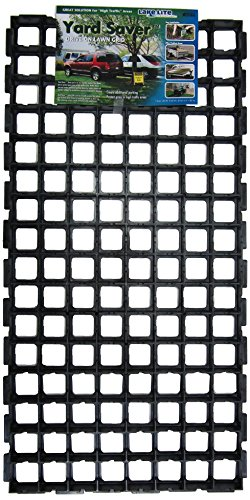 Yard Saver FGLLI01874-5PK Drive-On Lawn Grid, 38.5 x 19 x 1.25, Black (Pack of 5)