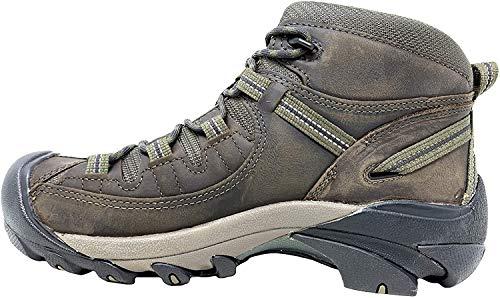 KEEN Men's Targhee ii mid Wide Hiking Boot, Canteen/Dark Olive, 9.5 W US