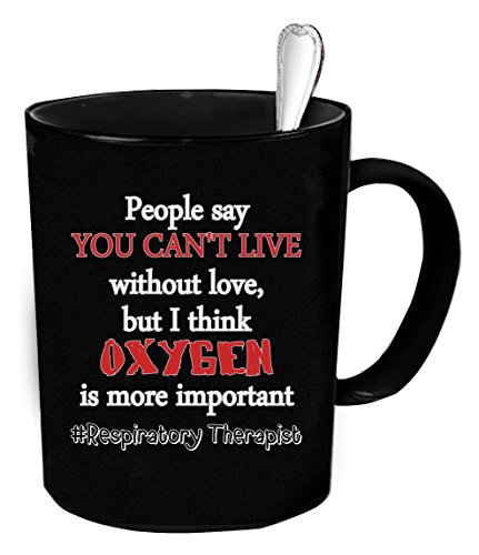 Respiratory Therapist Coffee Mug 11 oz. Respiratory Therapist funny gift.