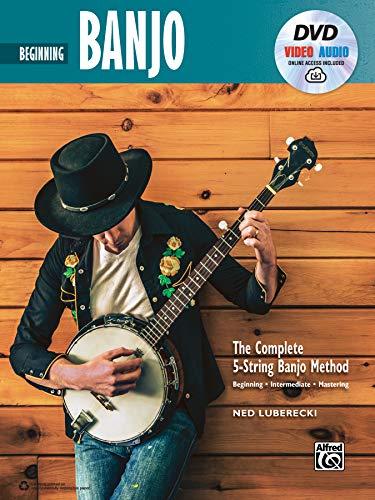 Complete 5-String Banjo Method: Beginning Banjo, Book & Online Video/Audio (Complete Method)