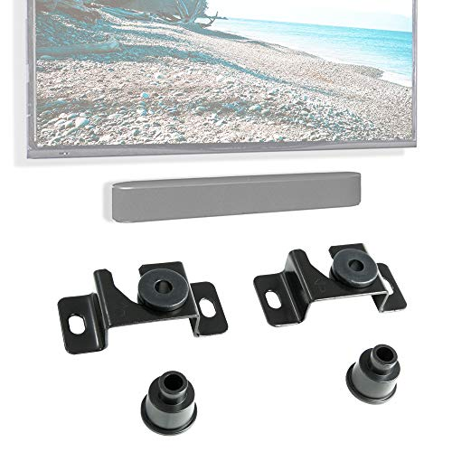 VIVO Fixed TV Mount for up to 70 inch Flat Screens, Soundbar Wall Mount Picture Hanging Style, Thin Ultra-Low Profile, MOUNT-VW00