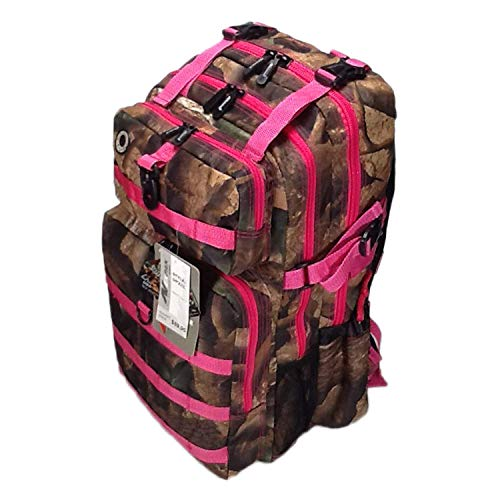 Nexpak 21inch 2000 cu in Great Hunting Camping Hiking Backpack DP321 DCPK Pink DIGITAL CAMOUFLAGE