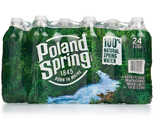 Poland Springs Bottled Water 16.9oz Bottles - Pack of 24