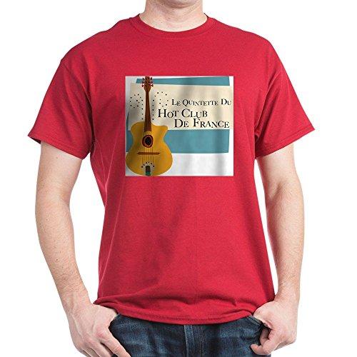 CafePress Hot_Club T Shirt 100% Cotton T-Shirt Cardinal