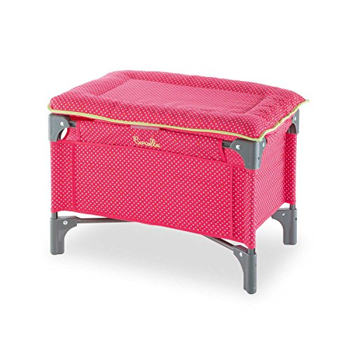 Corolle Mon Classique Cherry Doll Bed & Changing Table