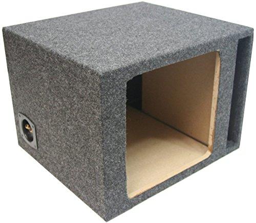 Car Audio Single 12' Vented Square Sub Box Enclosure fits Kicker L7 Subwoofer