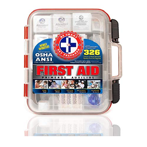 First Aiid Kit Expiry 326 Pieces Exceeds Expectations