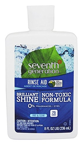Seventh Generation Dishwasher Rinse Aid - 8 oz - 2 pk