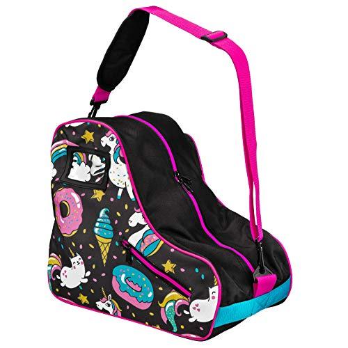 Pacer Skate Shape Bags - Great for Quad Roller Skates or Inlines (Donut)