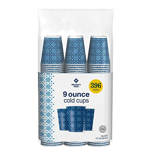Member's Mark Cold Cup, 9 oz. - 720 CUPS (2 PACKS OF 360 CT.)