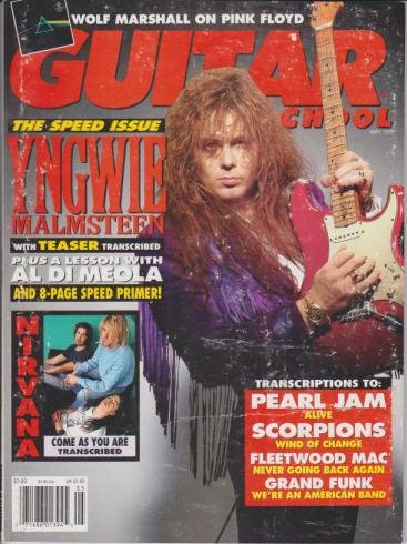Guitar School Magazine (May 1992) (The Speed Issue - Yngwie Malmsteen)