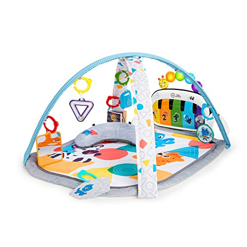 Baby Einstein 4-in-1 Kickin' Tunes Music and Language Discovery Activity Play Gym