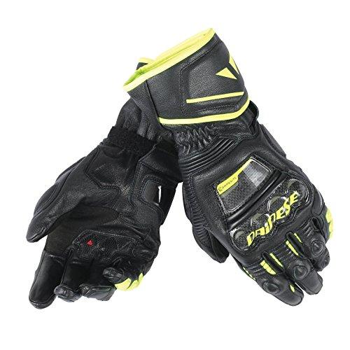 Dainese Druid D1 Long Gloves (X-Large) (Black/Black/Fluorescent Yellow)