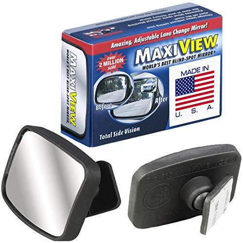 Made in USA, HD Metal Lense 360° Blind Spot Mirrors