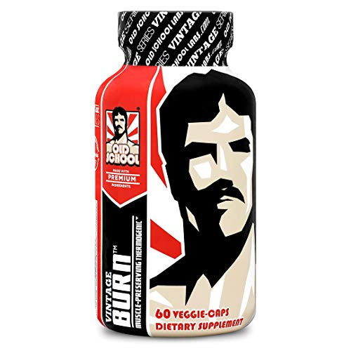 Old School Labs Vintage Burn - Muscle-Preserving Thermogenic for Men & Women - 60 Capsules - 30 Servings