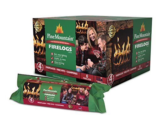 Pine Mountain Classic 4-Hour Burn Time Traditional Firelog (6-pack), 6 Count