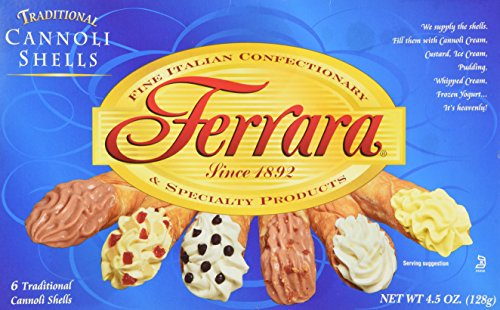 Ferrara - Cannoli Shells, (3)- 4.5 oz. Boxes