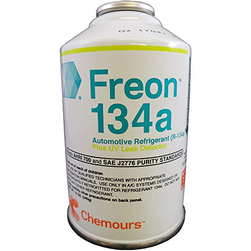 Chemours R134a Refrigerant With UV Leak Detector 12 ounce Can