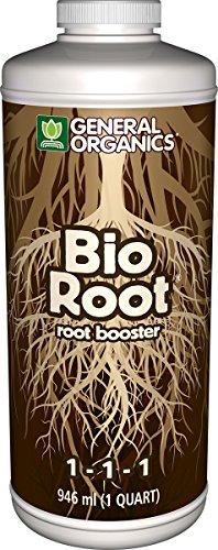 General Organics GH5322 BioRoot Root Booster, 1 Quart