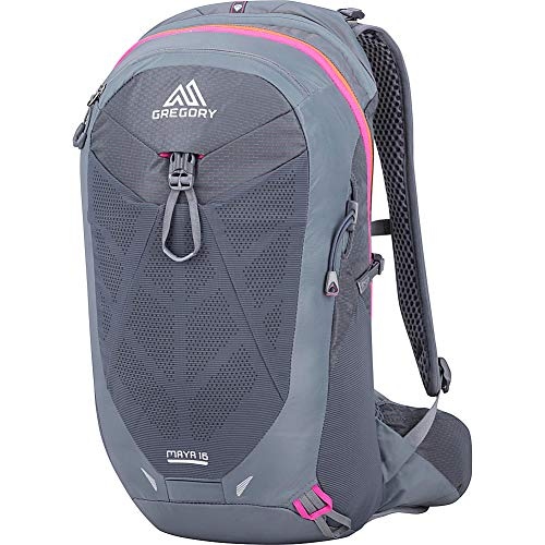 Gregory Mountain Products Maya 16 Liter Women's Daypack, Mercury Grey, One Size