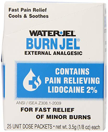 Water-Jel Technologies - 600U-1 3.5 Gram Unit Dose Packet Burn Jel Topical Gel (25 Per Box)